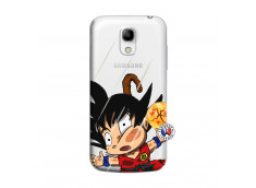 Coque Samsung Galaxy S4 Mini Goku Impact