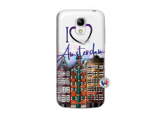 Coque Samsung Galaxy S4 Mini I Love Amsterdam