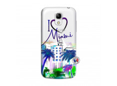 Coque Samsung Galaxy S4 Mini I Love Miami