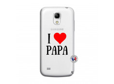 Coque Samsung Galaxy S4 Mini I Love Papa