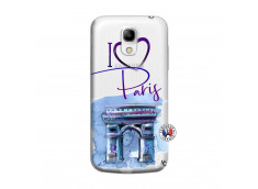 Coque Samsung Galaxy S4 Mini I Love Paris Arc Triomphe
