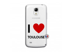 Coque Samsung Galaxy S4 Mini I Love Toulouse