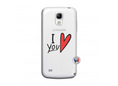 Coque Samsung Galaxy S4 Mini I Love You