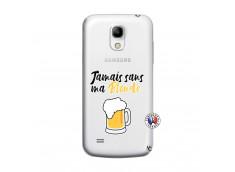 Coque Samsung Galaxy S4 Mini Jamais Sans Ma Blonde