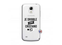 Coque Samsung Galaxy S4 Mini Je Dribble Comme Cristiano