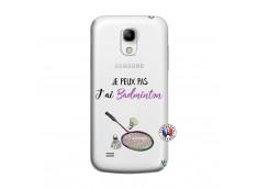 Coque Samsung Galaxy S4 Mini Je Peux Pas J Ai Badminton