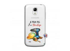 Coque Samsung Galaxy S4 Mini Je Peux Pas J Ai Bricolage