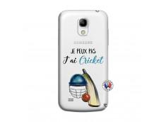 Coque Samsung Galaxy S4 Mini Je peux pas j'ai cricket