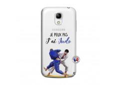 Coque Samsung Galaxy S4 Mini Je peux pas j'ai Judo