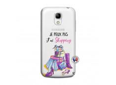 Coque Samsung Galaxy S4 Mini Je Peux Pas J Ai Shopping