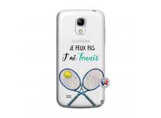 Coque Samsung Galaxy S4 Mini Je Peux Pas J Ai Tennis