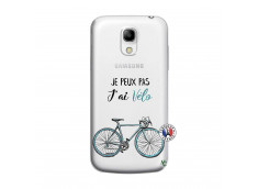 Coque Samsung Galaxy S4 Mini Je Peux Pas J Ai Velo