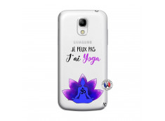 Coque Samsung Galaxy S4 Mini Je Peux Pas J Ai Yoga