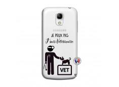 Coque Samsung Galaxy S4 Mini Je Peux Pas Je Suis Veterinaire