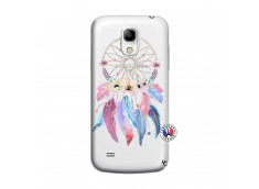 Coque Samsung Galaxy S4 Mini Multicolor Watercolor Floral Dreamcatcher