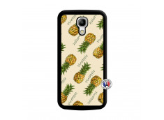 Coque Samsung Galaxy S4 Mini Sorbet Ananas Noir