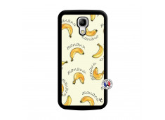 Coque Samsung Galaxy S4 Mini Sorbet Banana Split Noir