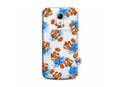 Coque Samsung Galaxy S4 Mini Poisson Clown