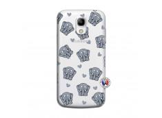 Coque Samsung Galaxy S4 Mini Petits Elephants