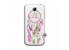 Coque Samsung Galaxy S4 Mini Pink Painted Dreamcatcher