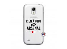 Coque Samsung Galaxy S4 Mini Rien A Foot Allez Arsenal