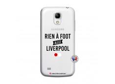 Coque Samsung Galaxy S4 Mini Rien A Foot Allez Liverpool