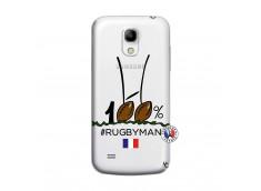 Coque Samsung Galaxy S4 Mini 100 % Rugbyman Entre les Poteaux