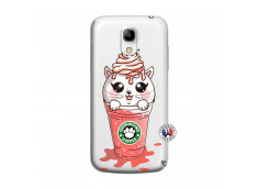 Coque Samsung Galaxy S4 Mini Catpucino Ice Cream