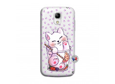 Coque Samsung Galaxy S4 Mini Smoothie Cat