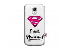 Coque Samsung Galaxy S4 Mini Super Maman