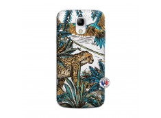 Coque Samsung Galaxy S4 Mini Leopard Jungle