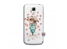 Coque Samsung Galaxy S4 Mini Puppies Love