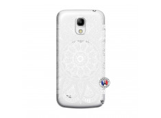 Coque Samsung Galaxy S4 Mini White Mandala