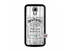 Coque Samsung Galaxy S4 Mini White Old Jack Noir