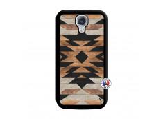 Coque Samsung Galaxy S4 Aztec Noir