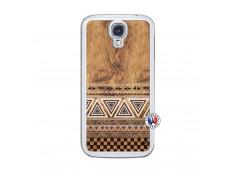 Coque Samsung Galaxy S4 Aztec Deco Translu