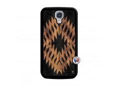 Coque Samsung Galaxy S4 Aztec One Motiv Noir