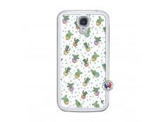 Coque Samsung Galaxy S4 Le Monde Entier est un Cactus Translu
