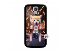 Coque Samsung Galaxy S4 Cat Nasa Noir
