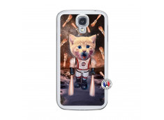 Coque Samsung Galaxy S4 Cat Nasa Translu