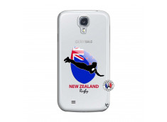 Coque Samsung Galaxy S4 Coupe du Monde Rugby- Nouvelle Zélande