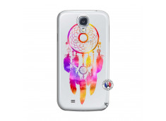 Coque Samsung Galaxy S4 Dreamcatcher Rainbow Feathers