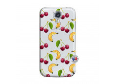 Coque Samsung Galaxy S4 Hey Cherry, j'ai la Banane