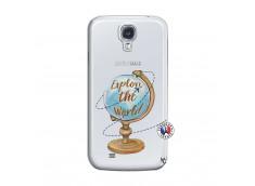 Coque Samsung Galaxy S4 Globe Trotter