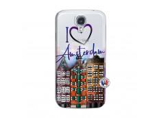 Coque Samsung Galaxy S4 I Love Amsterdam