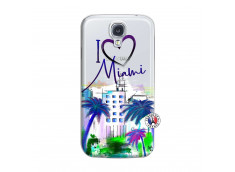 Coque Samsung Galaxy S4 I Love Miami