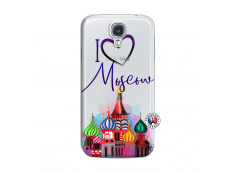 Coque Samsung Galaxy S4 I Love Moscow