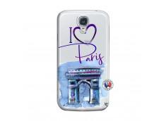 Coque Samsung Galaxy S4 I Love Paris Arc Triomphe