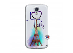 Coque Samsung Galaxy S4 I Love Paris