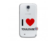 Coque Samsung Galaxy S4 I Love Toulouse